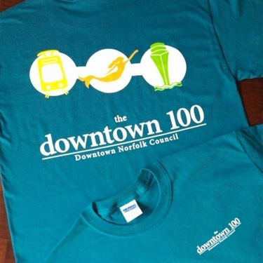 Downtown Norfolk Council T-shirt